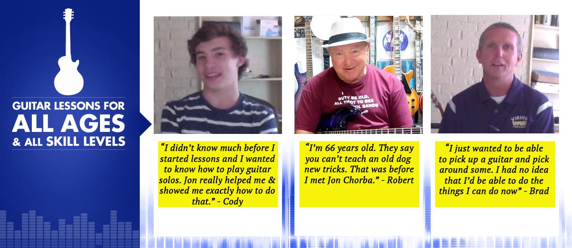 Guitar Lessons Arlington TX Testimonials